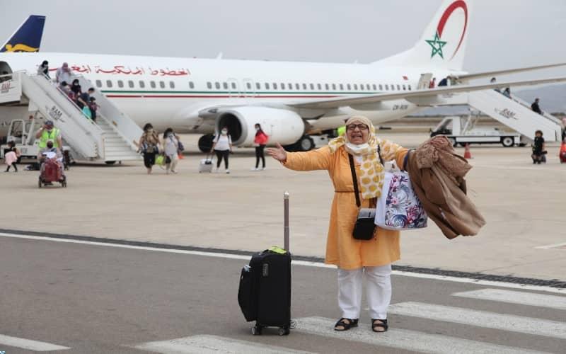Les aéroports du Maroc ont accueilli près de 200.000 passagers en une semaine