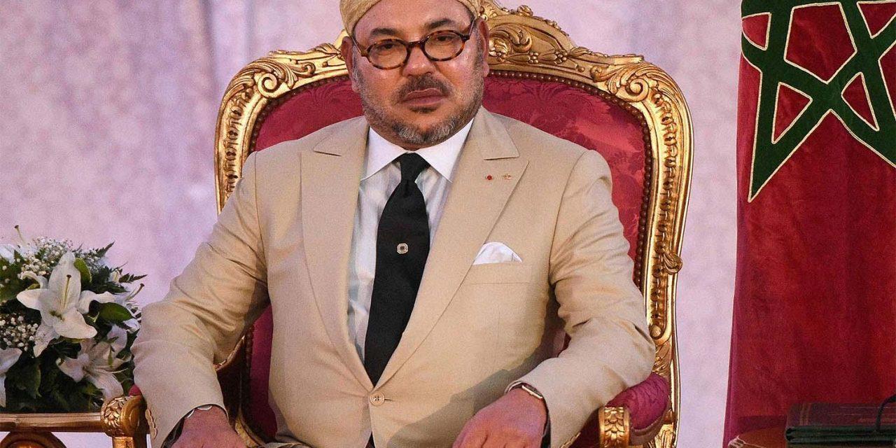 le Roi félicite Naam Miyara à l'occasion de son élection à la tête de la Chambre des conseillers