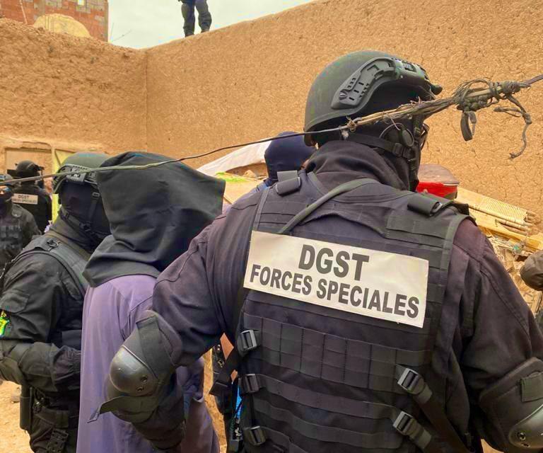 Démantèlement d'une nouvelle cellule terroriste près de Marrakech