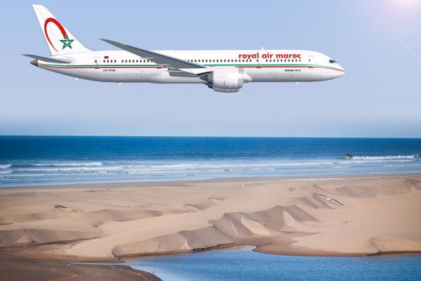 Royal Air Maroc lance la ligne Paris-Dakhla
