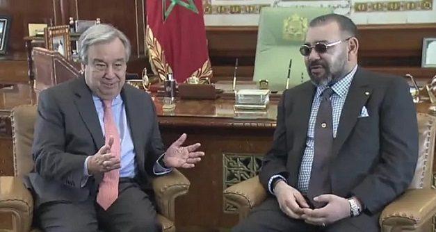 le Roi félicite M. Antonio Guterres à l'occasion de sa reconduction au poste de Secrétaire général de l'ONU
