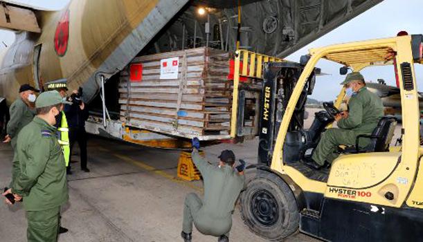 Covid-19 : Trois avions acheminant de l'aide médicale sont en route vers la Tunisie