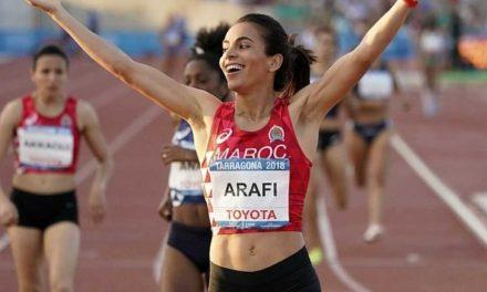 JO 2020: Rababe Arafi qualifiée pour les demi-finales du 800m