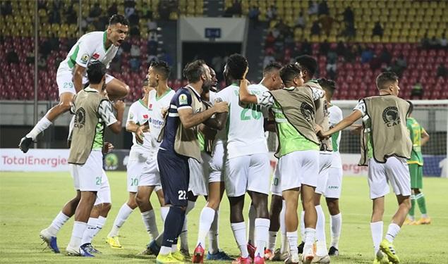 le Roi félicite le Raja Club Athletic QUI REMPORTE LA COUPE DE LA CAF