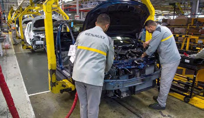 Groupe Renault : le Maroc dans le Top 10 des ventes mondiales
