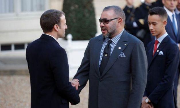 le Roi félicite le président français à l'occasion de la fête nationale de son pays