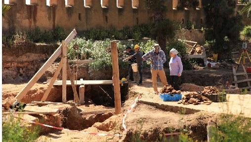 Découverte de vestiges archéologiques à l'ancienne médina de Salé 1