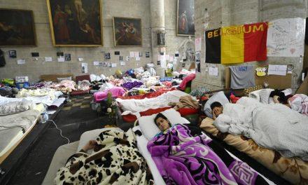 Des sans-papiers en grève de la faim depuis deux mois en Belgique