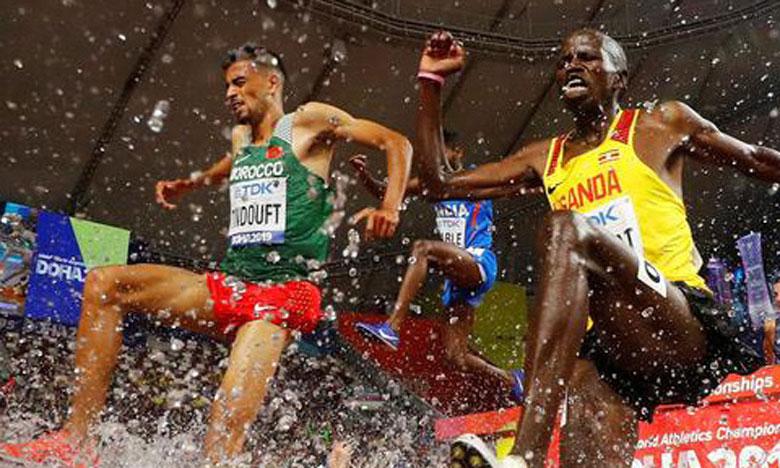 JO 2020: les Marocains El Bakkali et Tindouft en finale du 3000 m steeple