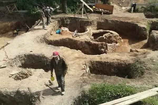 Découverte de vestiges archéologiques à l'ancienne médina de Salé
