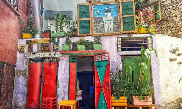 Les maisons troglodytes de Bhalil