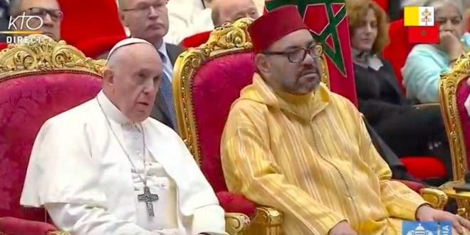 Le Roi Mohammed VI félicite le Pape François suite au succès de son intervention chirurgicale