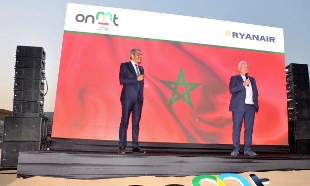 L'ONMT signe un accord stratégique avec Ryanair sur Agadir-Taghazout
