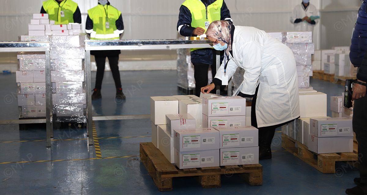 Covid-19: le Maroc reçoit 2 millions de doses du vaccin Sinopharm
