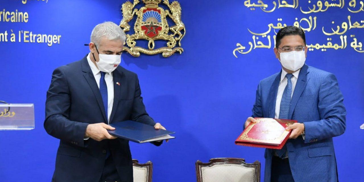 Maroc-Israël: Trois nouveaux accords signés à Rabat