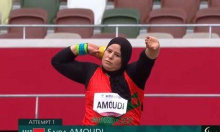 Jeux paralympiques: LA Marocaine Saida Amoudi remporte la médaille de bronze