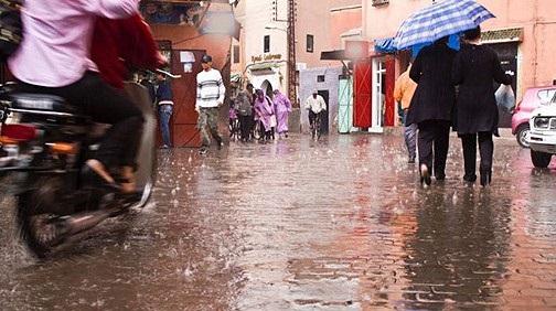 Averses orageuses dans plusieurs provinces du Royaume