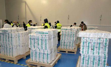 Vaccination : LE MAROC reçoit Un million de doses Sinopharm