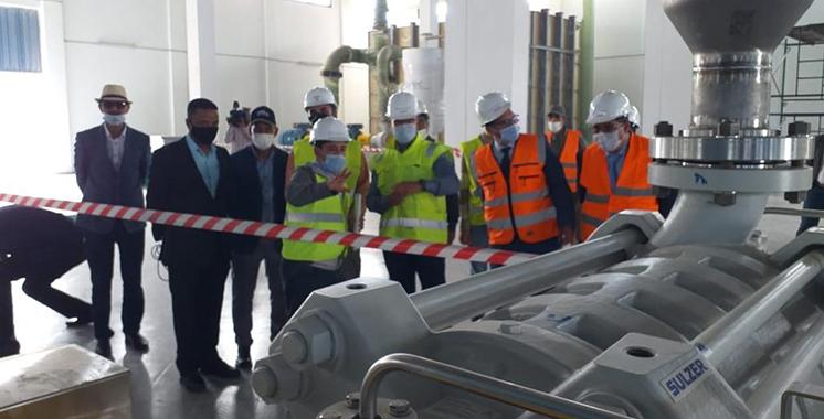 ONEE : Démarrage des essais de la station de dessalement de Laâyoune 1