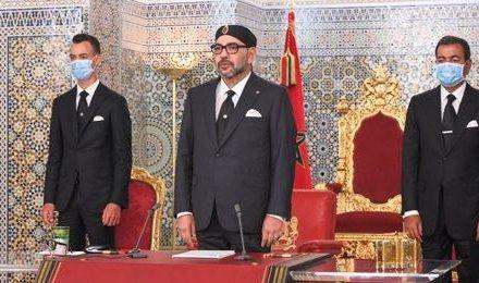 le Roi appelle à faire prévaloir la sagesse et les intérêts supérieurs du Maroc et de l'Algérie