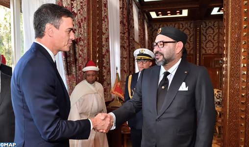"""Pedro Sanchez : """"Le Maroc et l'Espagne sont des alliés, des voisins et des amis"""""""