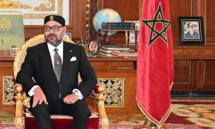Le roi Mohammed VI reçoit le Prix Jean Jaurès de la Paix
