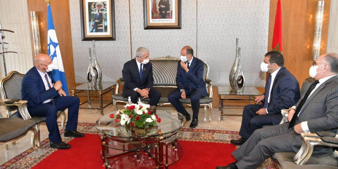 Arrivée du ministre israélien des Affaires étrangères au Maroc