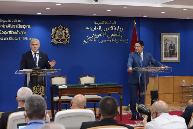 """YAIR LAPID: Le Maroc un leader """"courageux"""" en Afrique et dans le monde arabe"""