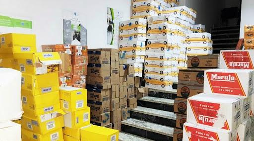 Berkane : Saisie d'importantes quantités de produits alimentaires stockés dans des conditions insalubres