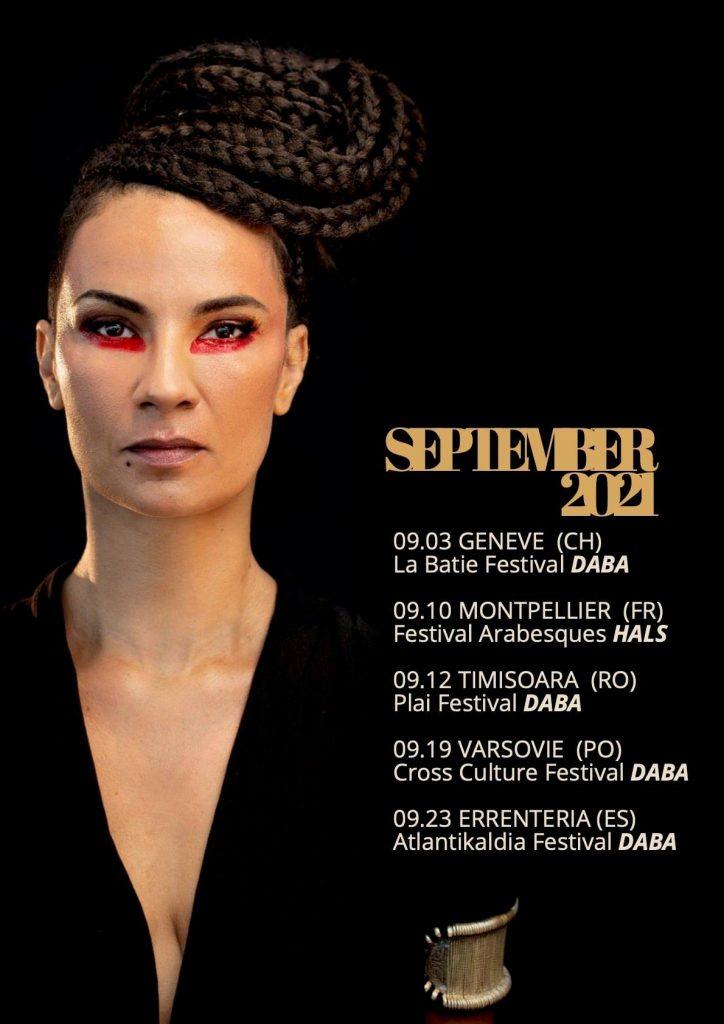 Oum en tournée européenne avec Daba et Hal 1