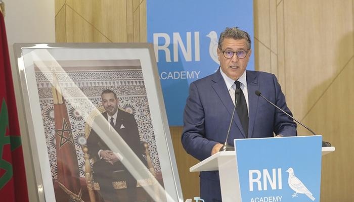 LE RNI REJETTE LES accusations de corruption dans la campagne électorale DE SON PARTI