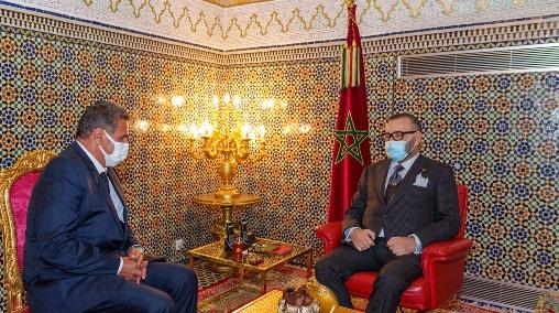 le Roi nomme M. Aziz Akhannouch chef de gouvernement et le charge de former le nouveau gouvernement