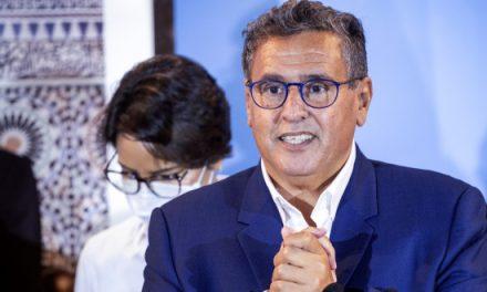 AKHANNOUCH: Des consultations seront engagées avec les partis pour la formation d'une majorité cohérente et homogène