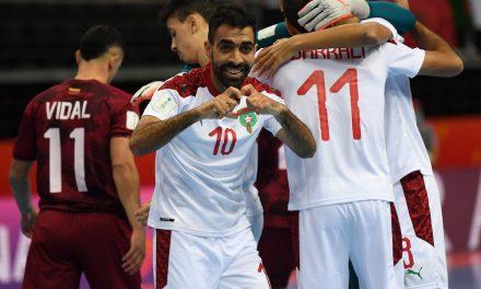 Coupe du monde de Futsal: le Maroc se qualifie pour les quarts de finale