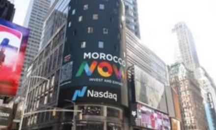 """LA MARQUE """"MOROCCO NOW"""" RECOUVRE LES MURS DE Time Square"""