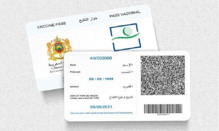 Le pass vaccinal sera obligatoire AU MAROC à partir de jeudi 21 OCTOBRE