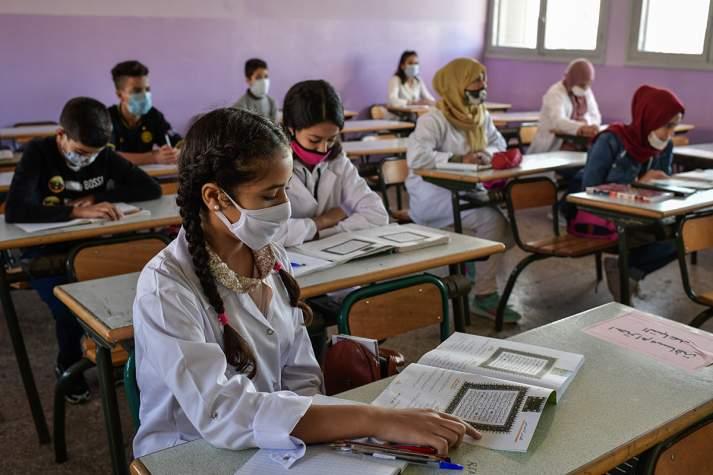 Rentrée scolaire: plus de 7,5 millions d'élèves ont repris le chemin de l'école