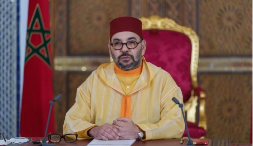 Le Roi adresse un discours au Parlement à l'occasion de l'ouverture de la 1ère session DE la 11ème législature