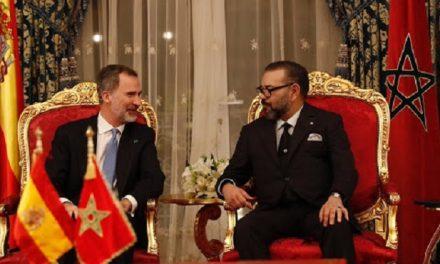 le Roi félicite les Souverains d'Espagne à l'occasion de la fête nationale de leur pays
