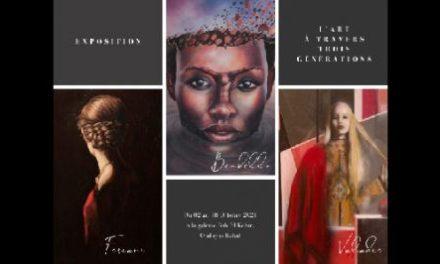 """Exposition """"L'Art à travers trois générations"""" à Rabat"""