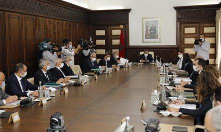 Akhannouch préside la réunion du conseil de gouvernement