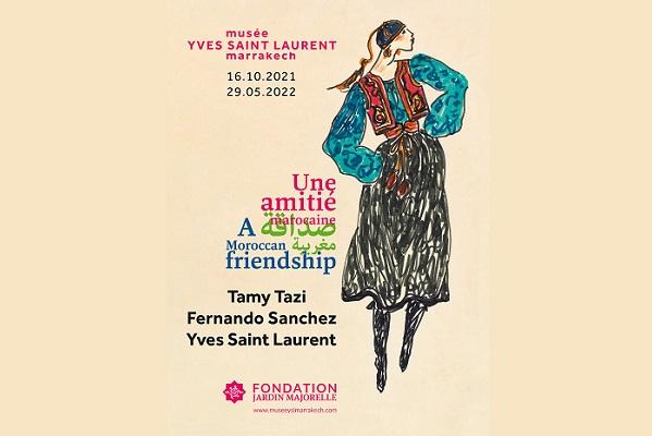 Tamy Tazi, Fernando Sanchez et Yves Saint Laurent; une amitié marocaine 1