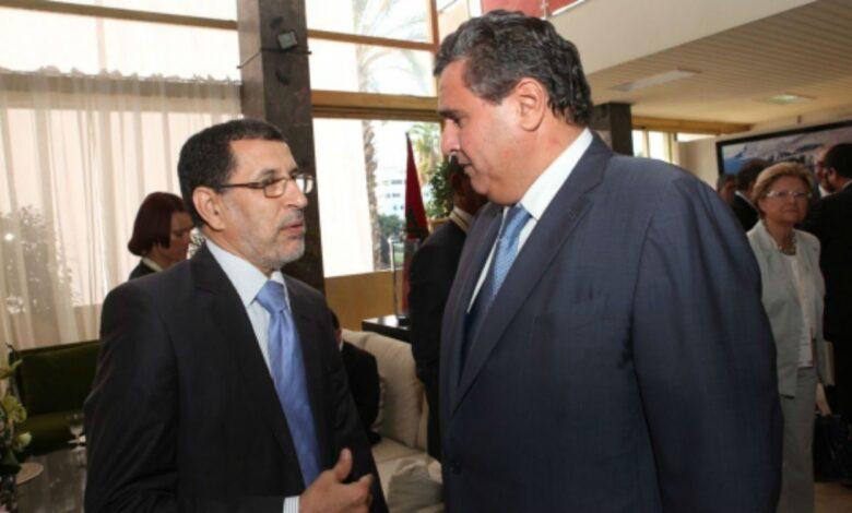 Passation de pouvoirs entre M. Saad Dine El Otmani et le nouveau Chef du gouvernement M. Aziz Akhannouch